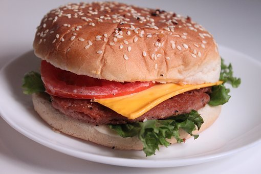 Food, Burger, Fast Food, Meat, Weight Gain