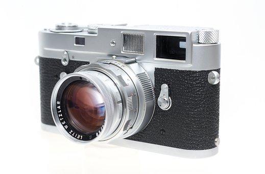 Leica, Camera, Rangefinder, Lens, Photography