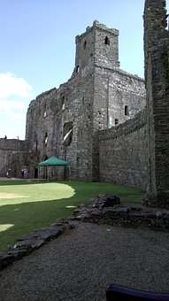 Kidwelly Castle, Castle, Kidwelly, Welsh, Wales