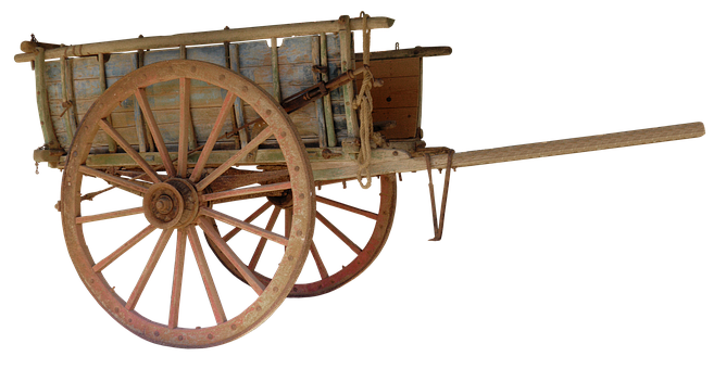 Cart, Wooden Barrow, Handcart, Dare, Wheel, Spokes