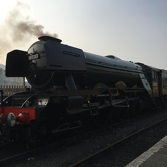 Flying Scotsman, Steam Engine, Trains