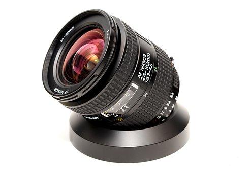 Nikon, Lens, Zoom, Optics, Photography, Focus, Black