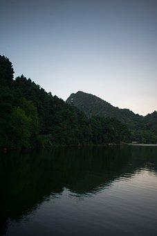 China, Guizhou, Guiyang, Qiangling Shan Park