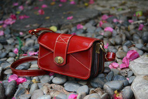 Red, Bag, Handbag