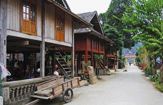 Vietnam, Maichau, Homestay, Travel, Hiker, Village
