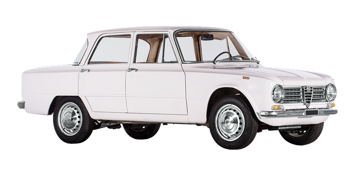 Isolated, Alfa Romeo, Giulia, 60 Mhz Years, Autos