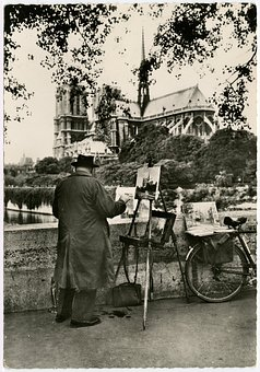 Artist, Paris, Europe, French, Painter