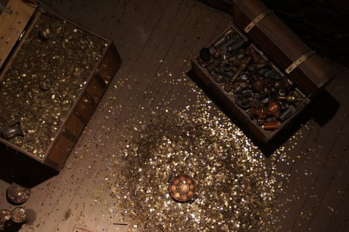 Coins, Gold, Store, The Middle Ages, Piggybank