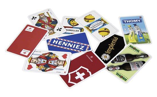 Jass Cards, Playing Cards, Card Games, Jass, Cards