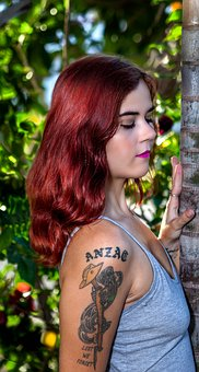 Red Hair Model, Posing, Photo Shoot