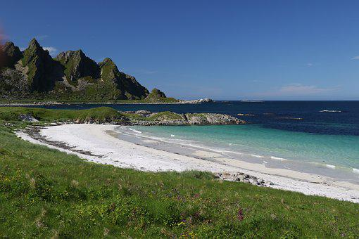Sea, Norway, Landscape, Scenic, Beach, Andøya
