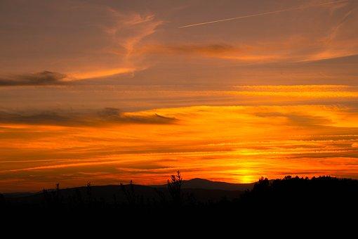 Nature, Landscape, Per, Of, Sol, Horizon, Serra
