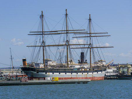 Tall Ship, Balclutha, San Francisco, Ship