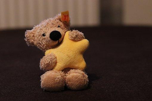 Teddy, Teddy Bear, Steiff, Soft Toy, Star, Cuddly