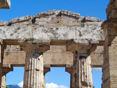 Greek, Temple, Architecture