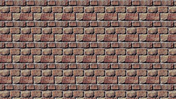 Lake Dusia, Wall, Texture, Brick, The Walls Of The