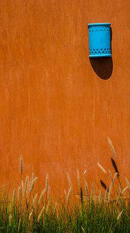 Wall, Replacement Lamp, The Background, Grass