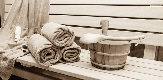 Sauna, Relaxation, Sweating Bath, Wood Sauna, Wellness
