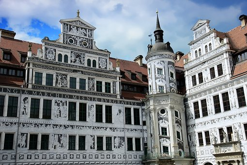 Dresden, Germany, Saxony, Old Town, Architecture