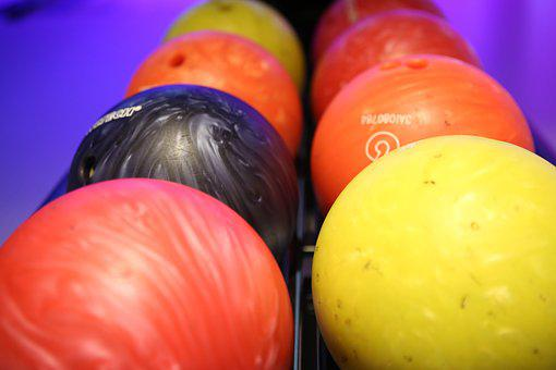 Ball, Balls, Around, Orange, Cone, Bowling, Cosy