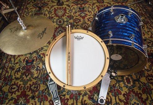 Drum, Drums, Music, Drum Set, Set, Rhythm, Snare, Bass
