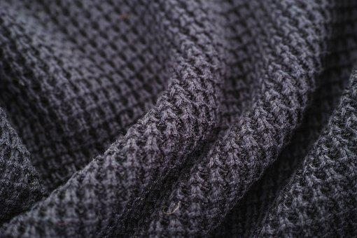Grey, Black, Magnificent, Curved, Figure, Fabric