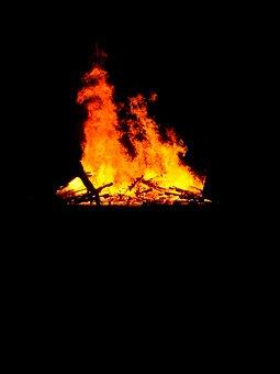 Fire, Camp, Campfire, Bonfire, Nature, Wood, Outdoor