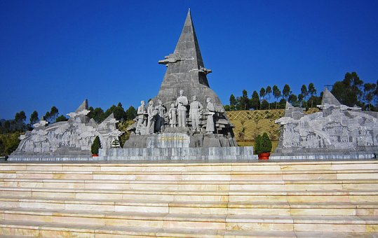 Vietnam, Laichau, Hochiminh, Statue, Travel