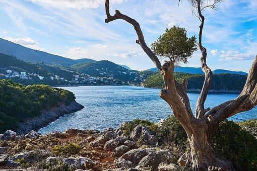 Greece, Ithaca, Island, Mediterranean, Greek Island