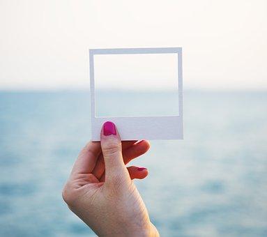 Shore, Craft, Holding, Paper, Tranquil Scene, Ocean