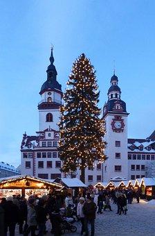 Chemnitz, Christmas, Christmas Market, Ore Mountains