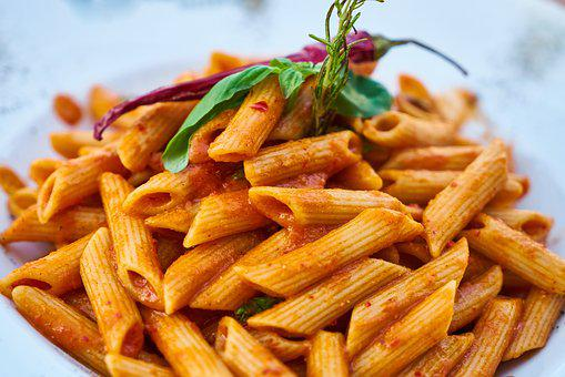 Pasta, Plate, Dough, Carb, Table, Healthy Lifestyle