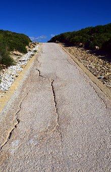 Road, Narrow, Mediterranean, Narrow Street, Land, Rural