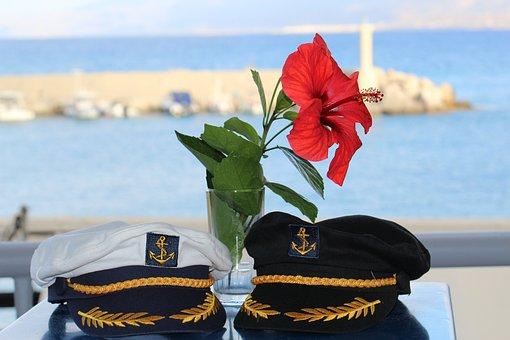 Sea, Captains, Sailor, Romance, Visor, Lighthouse