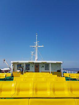 Croatia, Split, Ferry, Blue Sky