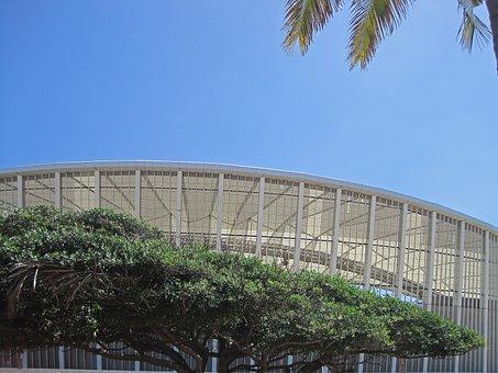 Stadium, Sport Arena, Moses Mabhida, Architecture