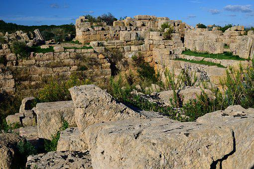 Ruin, Antiquity, Building, Stones, Old, Historically