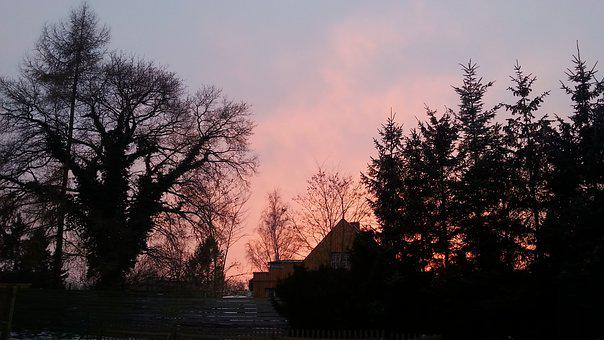 Sunset, Gormin, Mecklenburg Vorpommern