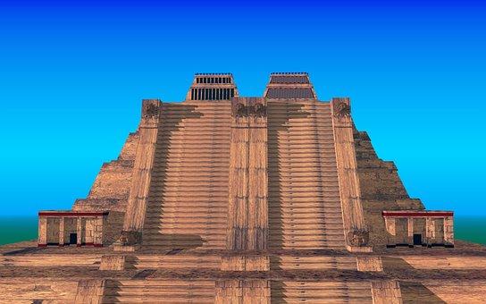 Aztecs, Templo Mayor, Shrines, Tlaloc, Huitzilopochtli