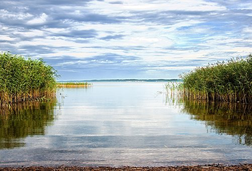 Balmer See, Island Of Usedom, Nature, Lake, Tourism