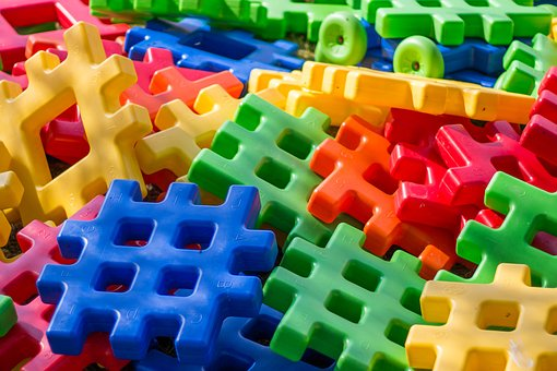 Pads, Color, Colorful, Fun, Children, Toys, Toy