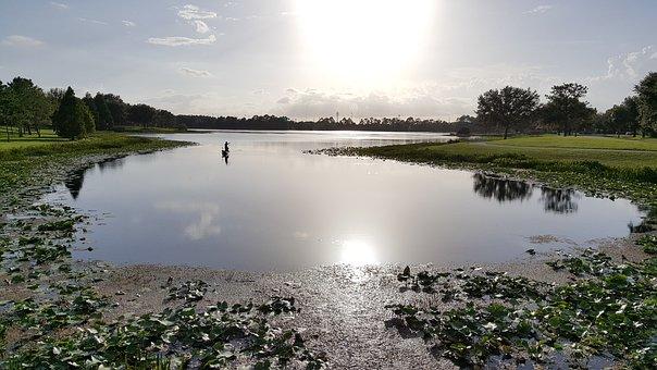 Walsingham Park, Largo, St Petersburg, Florida, Sunset