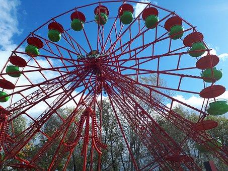 Ferris Wheel, Year Market, Folk Festival, Fair, Ride