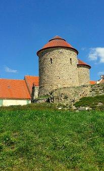 Znojmo, Moravia, Czechia, Rotunda, History, Tourism, 11
