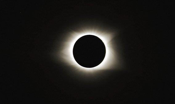 Solar Eclipse 2017, Sun And Star, Totality, 2017