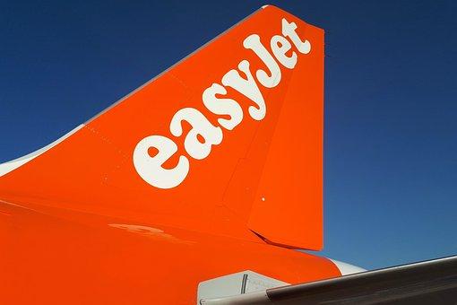 Aircraft, Passenger Aircraft, Airline, Easyjet, Orange