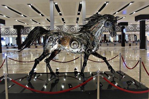 Horse, Artistic, Sculpture