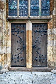 Door, Old, Oak, Old Door, Doors, Wood, Closed, Ancient