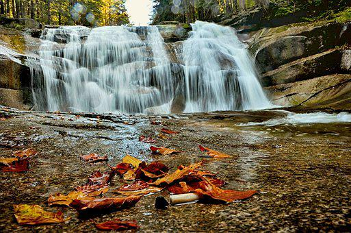 Czech Republic, Landscape, Autumn, Waterfall Of Mumlava