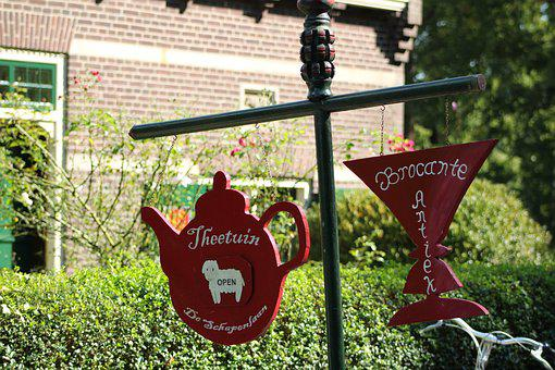 Teahouse, Forest, Nature, Trees, Autumn, Cute, Park